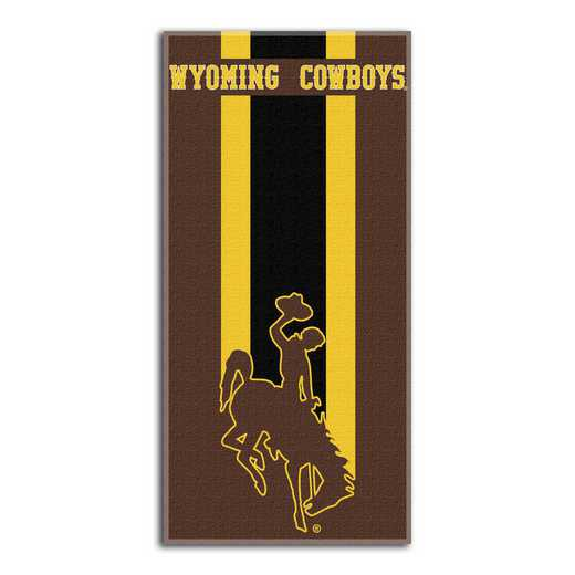 1COL620000066RET: NW NCAA ZONE READ BEACH TOWEL, WYOMING