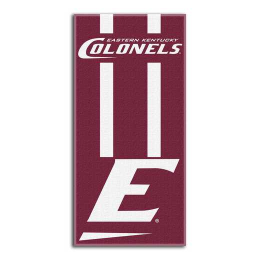 1COL620000167RET: NW NCAA ZONE READ BEACH TOWEL, EASTERN KENTUCKY