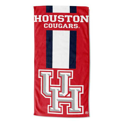 1COL620000213RET: NW NCAA ZONE READ BEACH TOWEL, HOUSTON
