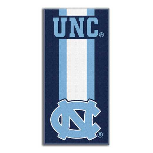 1COL720000023RET: NW NCAA ZONE READ BEACH TOWEL, UNC