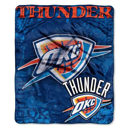 1NBA070200033RET: NBA DROPDOWN RASCHEL THROW, Thunder