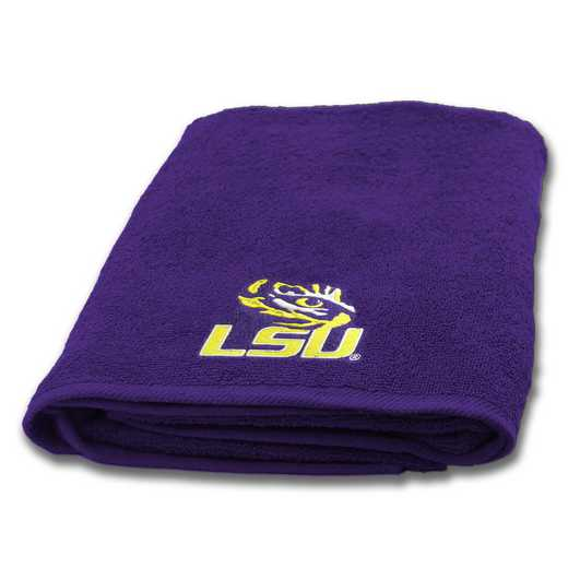 1COL929001046WMT: COL 929 LSU Bath Towel