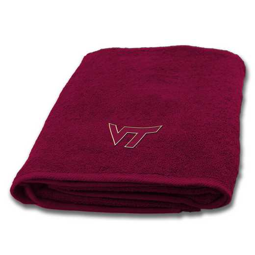 1COL929001075WMT: COL 929 Virginia Tech Bath Towel