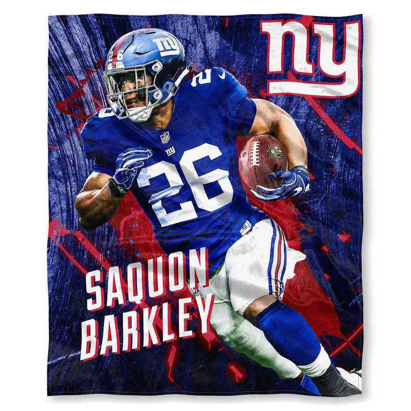 1PLY575000045RET: NFL 575 NY Giants  Saquon Barkley Silk Touch Throw