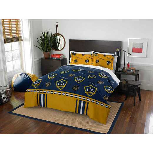 1MLS849000001RET: MLS 849 LA Galaxy Track Full/Queen Comforter Set