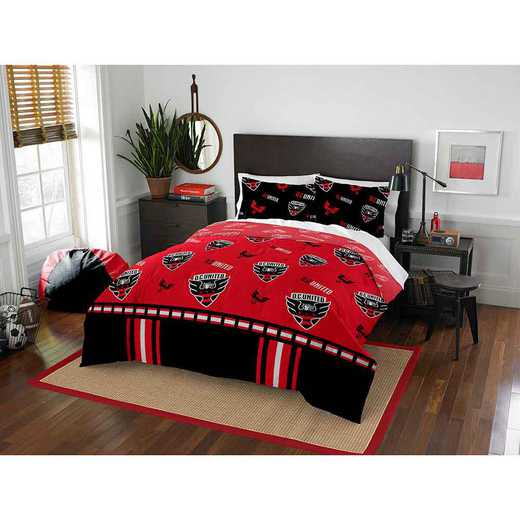 1MLS849000002RET: MLS 849 DC United Track Full/Queen Comforter Set