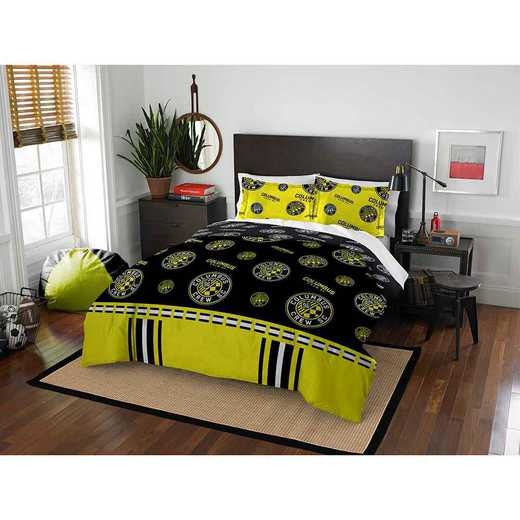 1MLS849000004RET: MLS 849 Columbus Crew Track Full/Queen Comforter Set