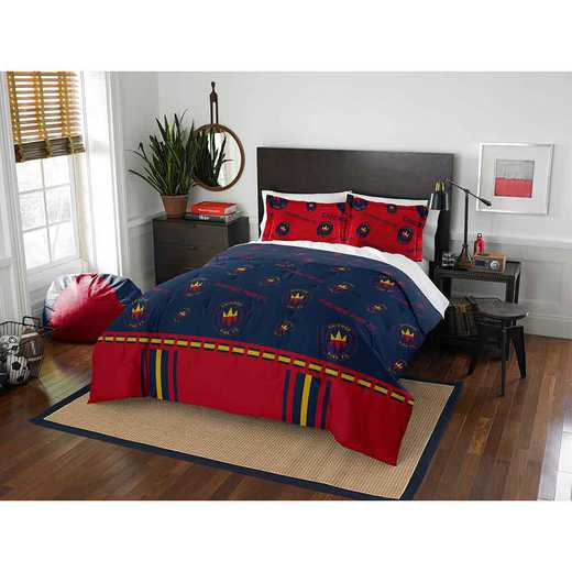 1MLS849000010RET: MLS 849 Chiacgo Fire Track Full/Queen Comforter Set