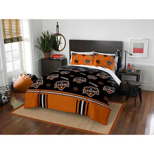 1MLS849000011RET: MLS 849 Houston Dynamo Track Full/Queen Comforter Set