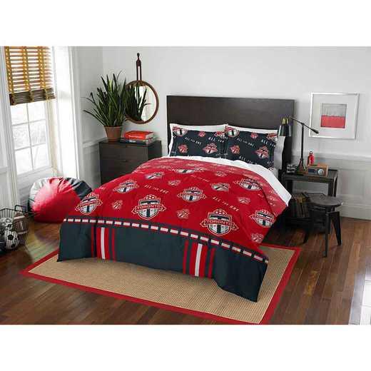 1MLS849000012RET: MLS 849 Toronto FC Track Full/Queen Comforter Set