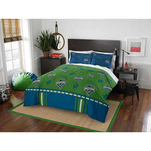 1MLS849000014RET: MLS 849 Seattle Sounders FC Track Full/Queen Comforter Set