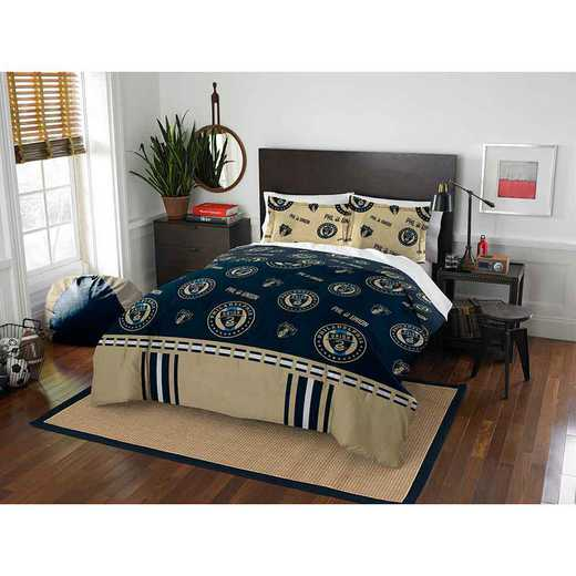 1MLS849000017RET: MLS 849 Philadelphia Union Track Full/Queen Comforter Set