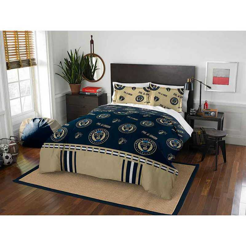 1MLS849000017RET: MLS 849 Philadelphia Union Track Full/Queen Comforter Set