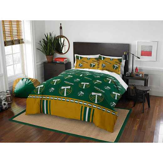 1MLS849000018RET: MLS 849 Portland Timbers Track Full/Queen Comforter Set