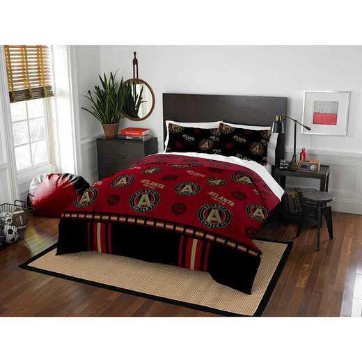1MLS849000025RET: MLS 849 Atlanta United Track Full/Queen Comforter Set