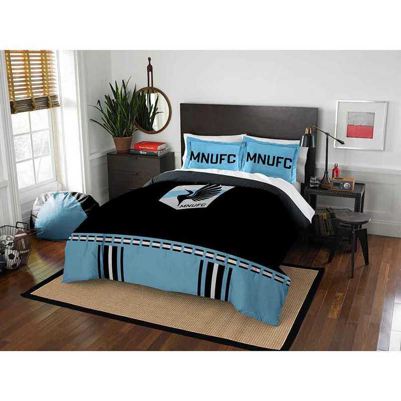 1MLS849000026RET: MLS 849 Minnesota United Track Full/Queen Comforter Set