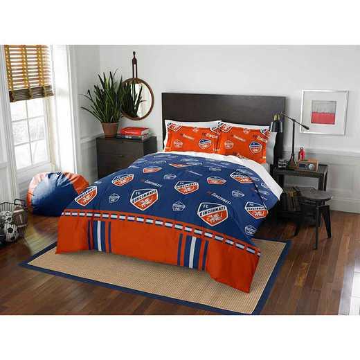 1MLS849000028RET: MLS 849 FC Cincinnati Track Full/Queen Comforter Set