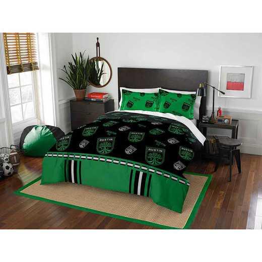 1MLS849000030RET: MLS 849 Austin FC Track Full/Queen Comforter Set