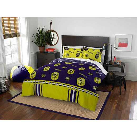 1MLS849000031RET: MLS 849 Nashville FC Track Full/Queen Comforter Set