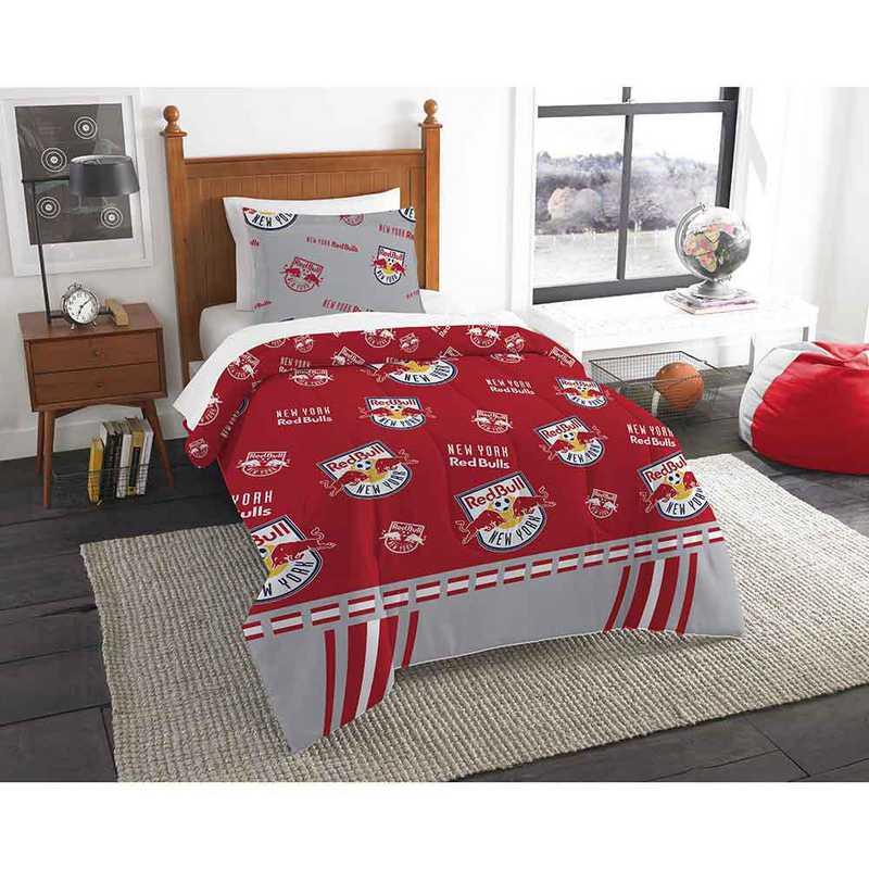 1MLS862000015RET: MLS 862 NY Red Bulls Track Twin Comfter Set