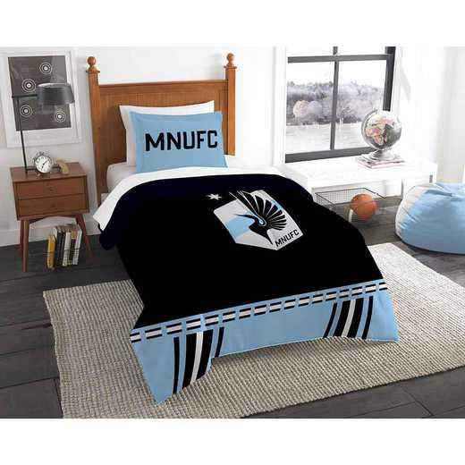 1MLS862000026RET: MLS 862 Minnesota United Track Twin Comfter Set