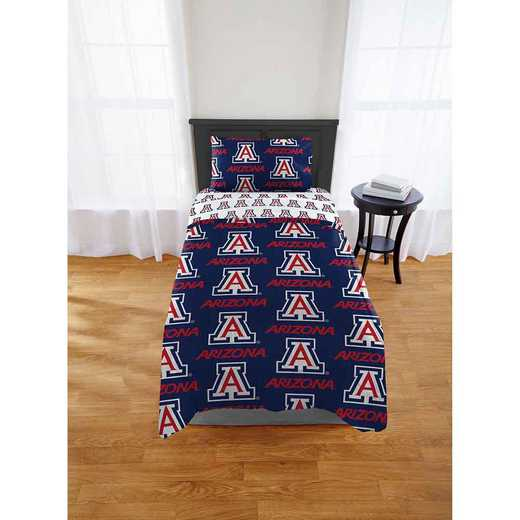 1COL863000051EDC: COL 863 Arizona Wildcats Twin/XL Bed In a Bag Set