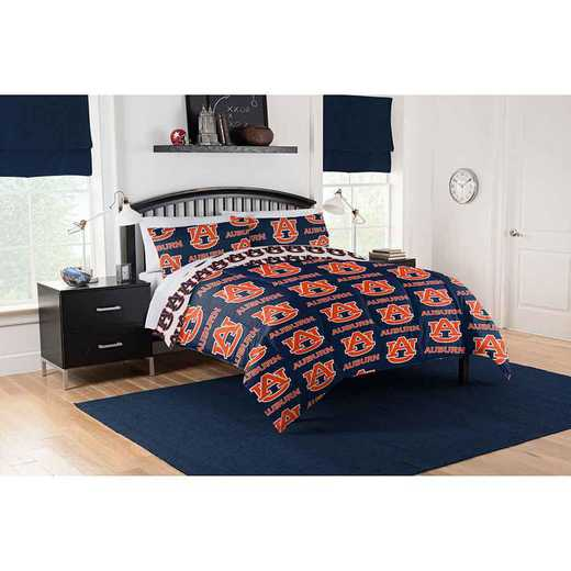 1COL864000022EDC: COL 864 Auburn Tigers Full Bed In a Bag Set