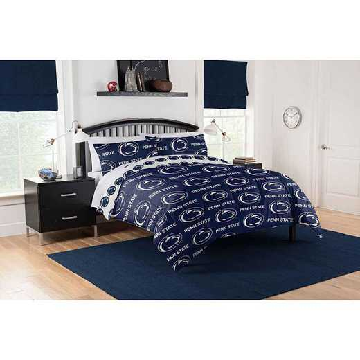 1COL864000024EDC: COL 864 Penn State Nittany Lions Full Bed In a Bag Set