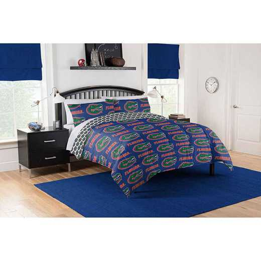 1COL875000016EDC: COL 875 Florida Gators Queen Bed In a Bag Set
