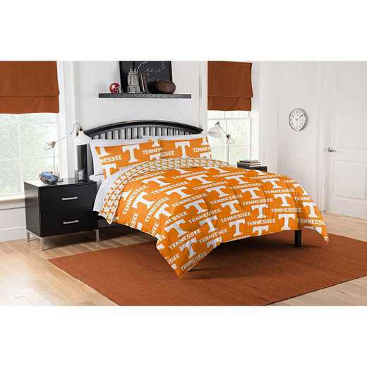 1COL875000019EDC: COL 875 Tennessee Vols Queen Bed In a Bag Set