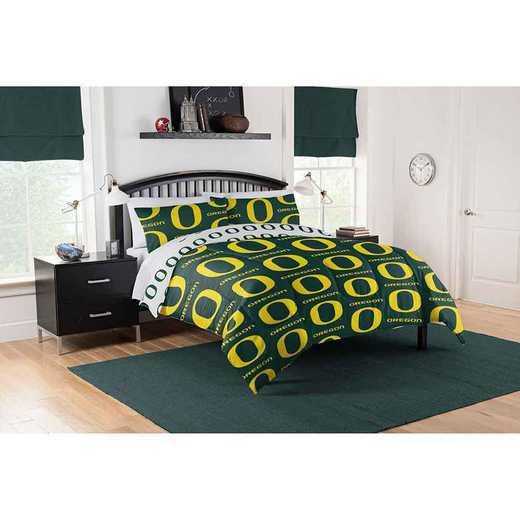 1COL875000081EDC: COL 875 Oregon Ducks Queen Bed In a Bag Set