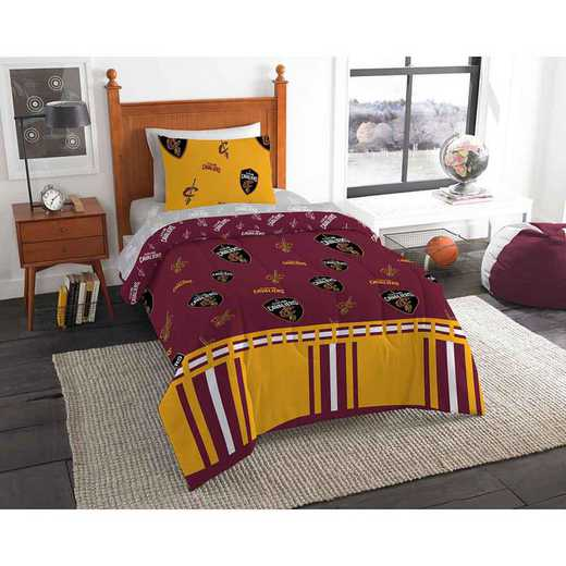 1NBA808000005EDC: NBA 808 Cleveland Cavaliers Twin Bed In a Bag Set