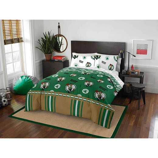 1NBA864000002EDC: NBA 864 Boston Celtics Full Bed In a Bag Set