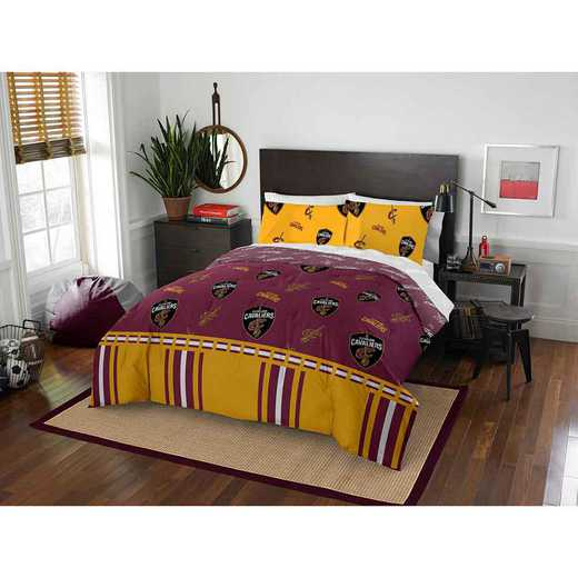 1NBA875000005EDC: NBA 875 Cleveland Cavaliers Queen Bed In a Bag Set