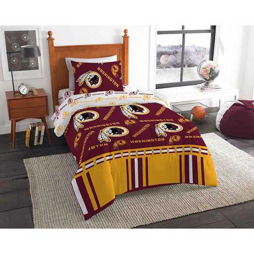 1NFL808000020EDC: NFL 808 Washington Redskins Twin Bed In a Bag Set