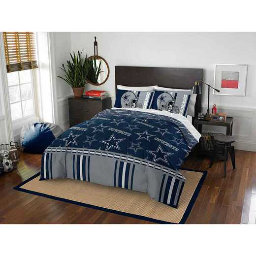1NFL875000009EDC: NFL 875 Dallas Cowboys Queen Bed In a Bag Set