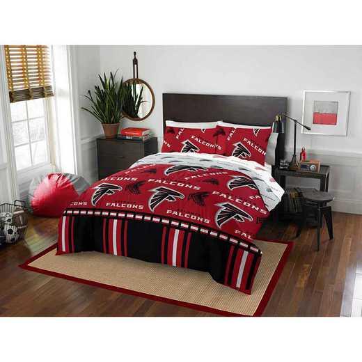 1NFL875000012EDC: NFL 875 Atlanta Falcons Queen Bed In a Bag Set