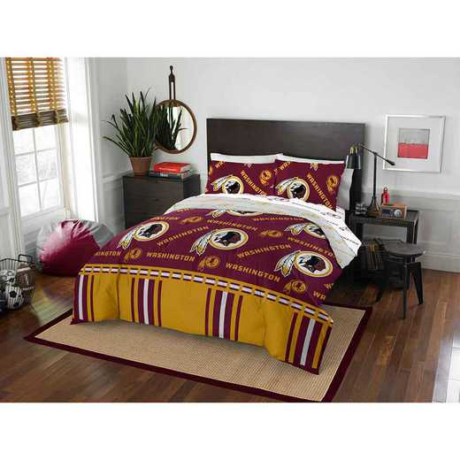 1NFL875000020EDC: NFL 875 Washington Redskins Queen Bed In a Bag Set