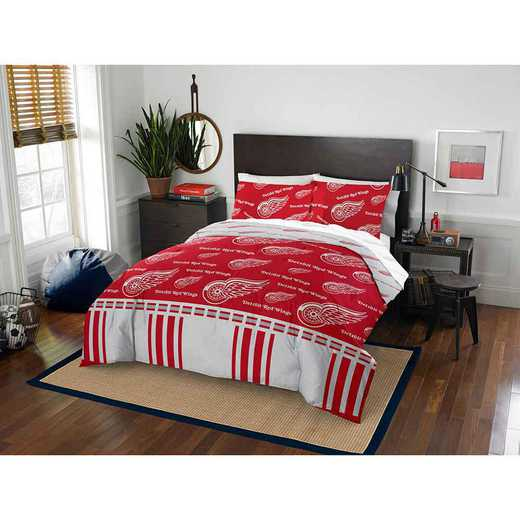 1NHL864000006EDC: NHL 864 Detroit Red Wings Full Bed In a Bag Set