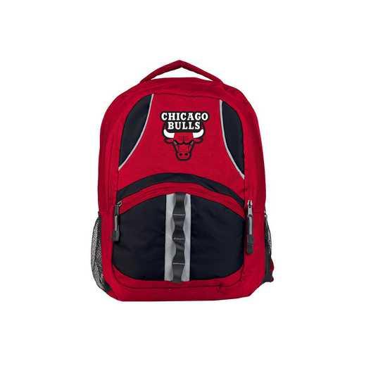 C11NBAC02603004RTL: NW NBA Captain Backpack, Bulls