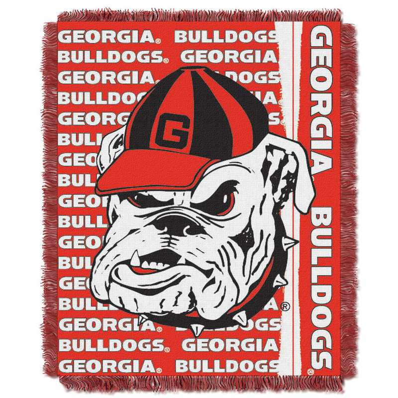 1COL019030029RET: NW COL Double Play Tapestry Throw, GA