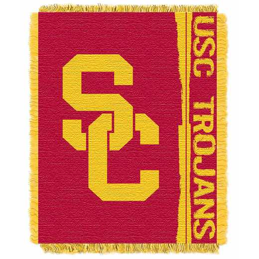 1COL019030068RET: NW COL Double Play Tapestry Throw, USC