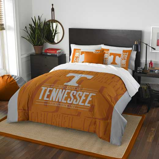 1COL849000019RET: NW NCAA F/Q Comforter Set, Tennessee