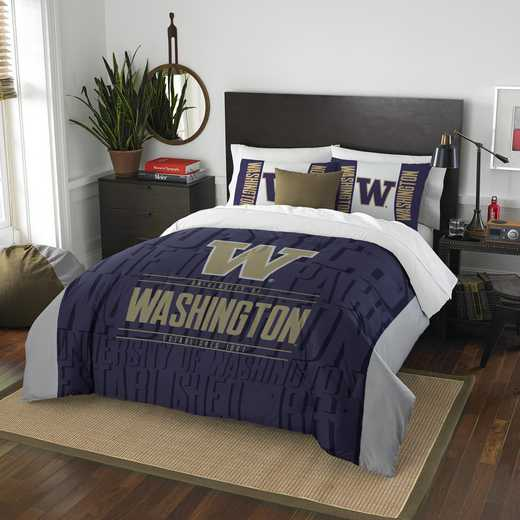 1COL849000037RET: NW NCAA F/Q Comforter Set, Washington