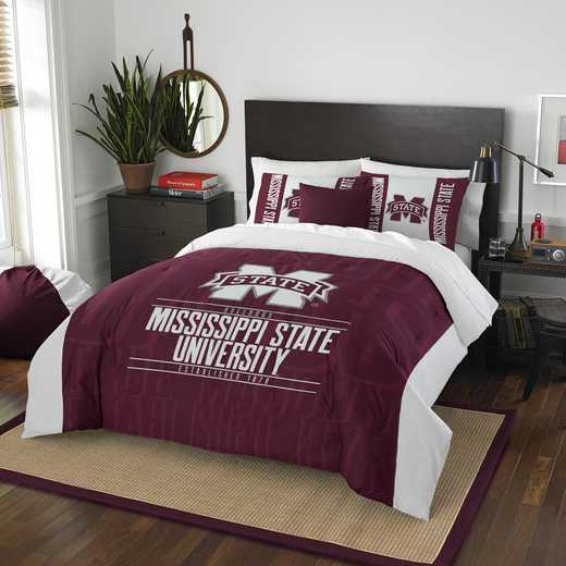 1COL849000056RET: NW NCAA F/Q Comforter Set, Miss St