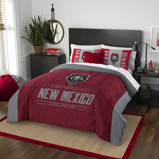 1COL849000058RET: NW NCAA F/Q Comforter Set, New Mexico