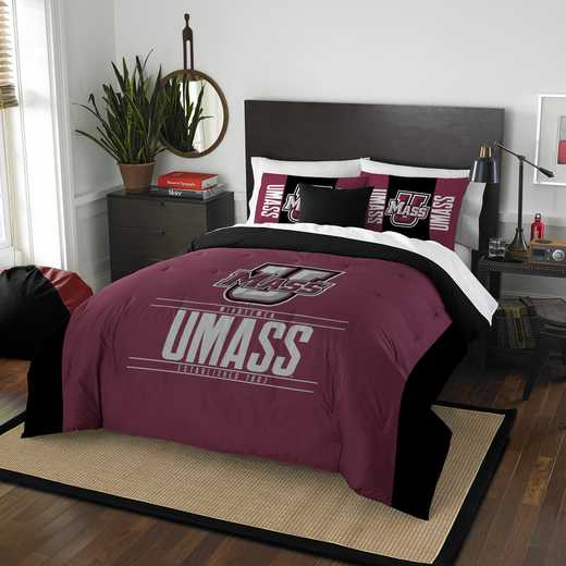 1COL849000077RET: NW NCAA F/Q Comforter Set, Massachusetts