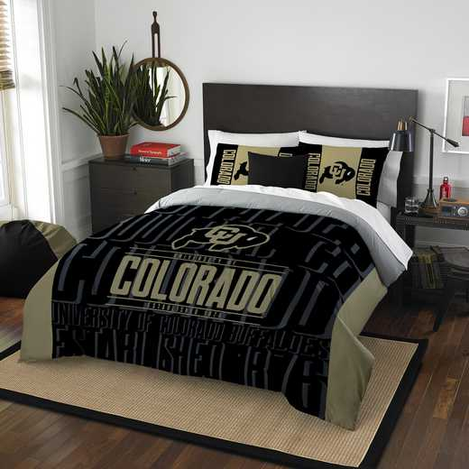 1COL849000085RET: NW NCAA F/Q Comforter Set, Colorado