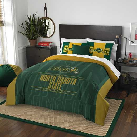 1COL849000098RET: NW NCAA F/Q Comforter Set, North Dakota St