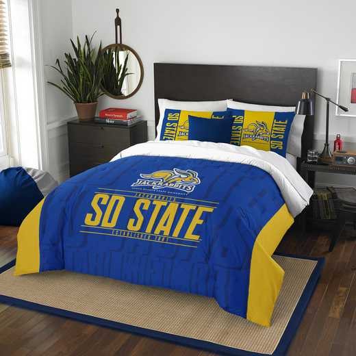 1COL849000101RET: NW NCAA F/Q Comforter Set, South Dakota St